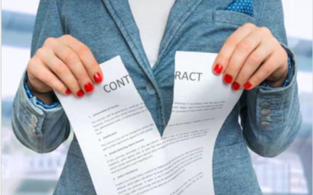 fin de contrat